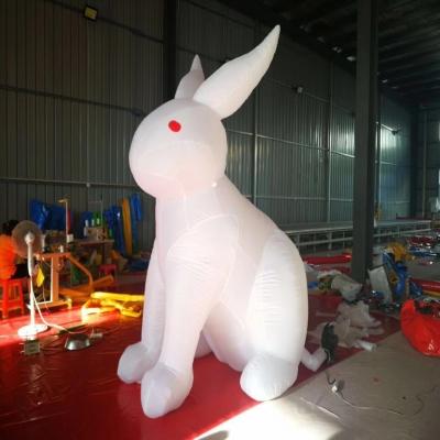 八月十五中秋仿真月亮定制 超级月亮租售 发光玉兔 大白兔中秋道具租赁