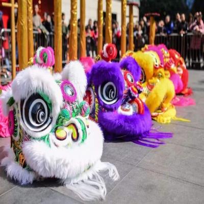 广东舞狮队哪家好?请舞狮表演要多少钱?珠海地产暖场舞狮,开业醒狮队,商场舞狮表演